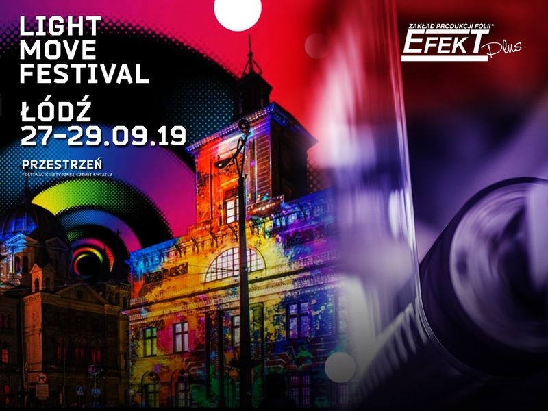 Stretch Film Production in Light Festival